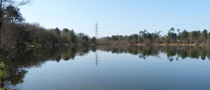 Lac du Moulin blanc à St Christoly de Blaye