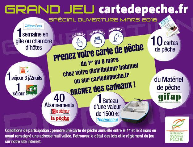 grand jeu cartedepeche.fr