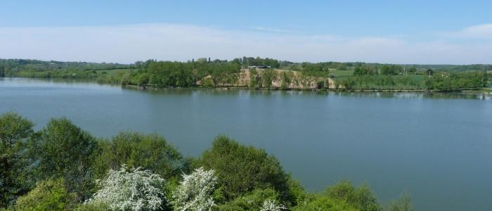 Lac de La Prade, à Bazas