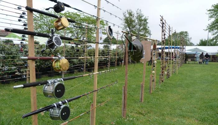 Exposition cannes à pêche