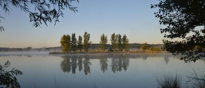 Lac du domaine