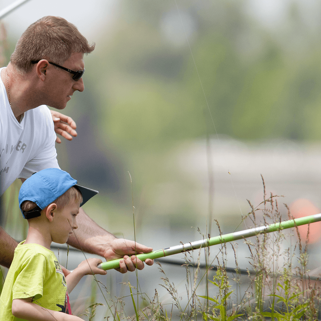 La pêche à grouzii vidéo en été