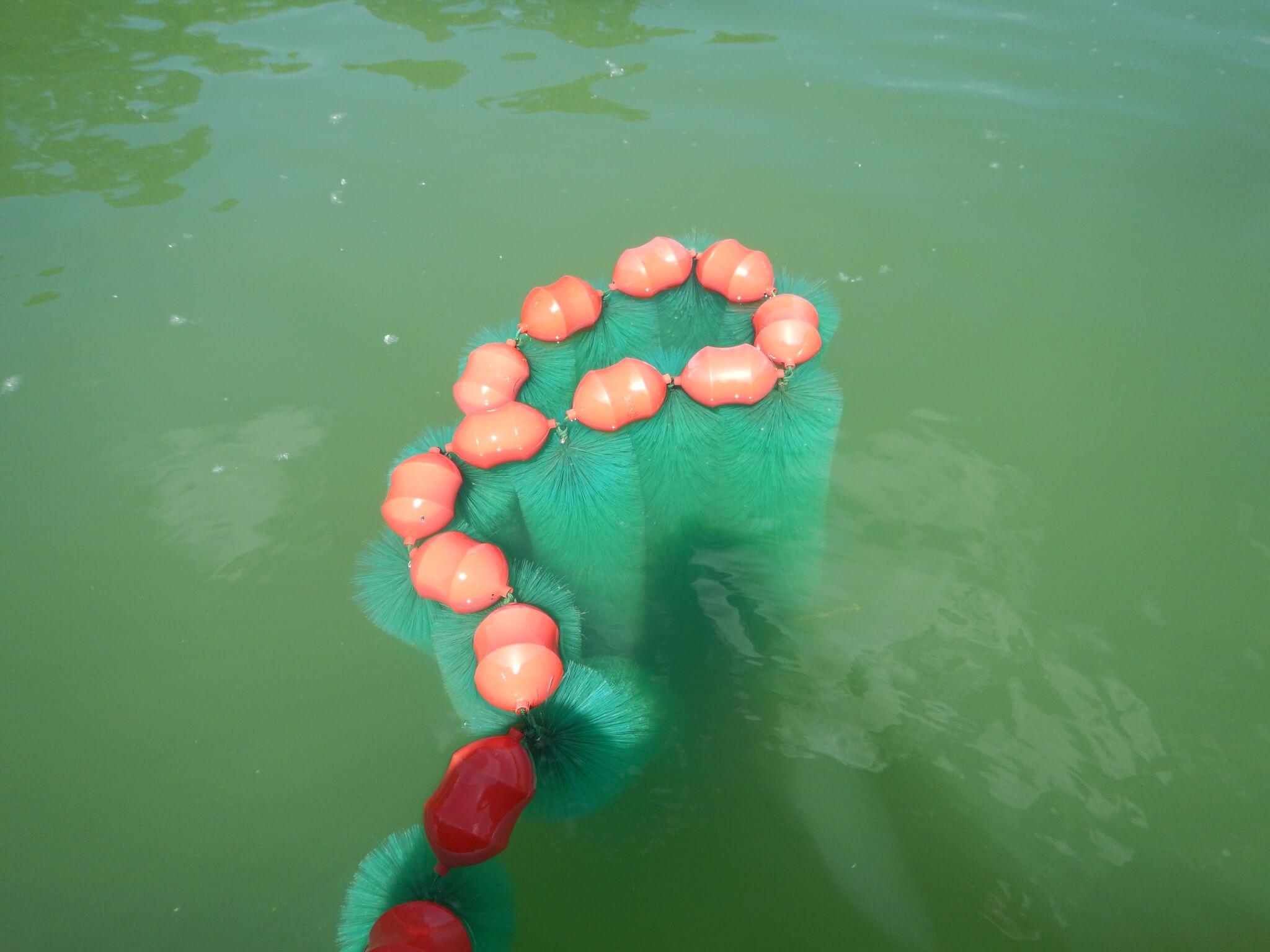 3-frayère artificielle flottante