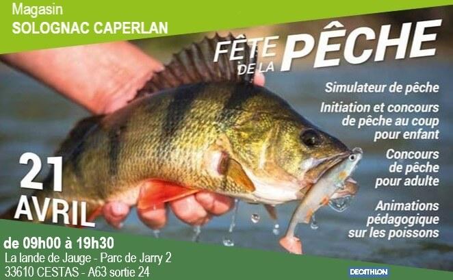 fête de la pêche solognac-caperlan