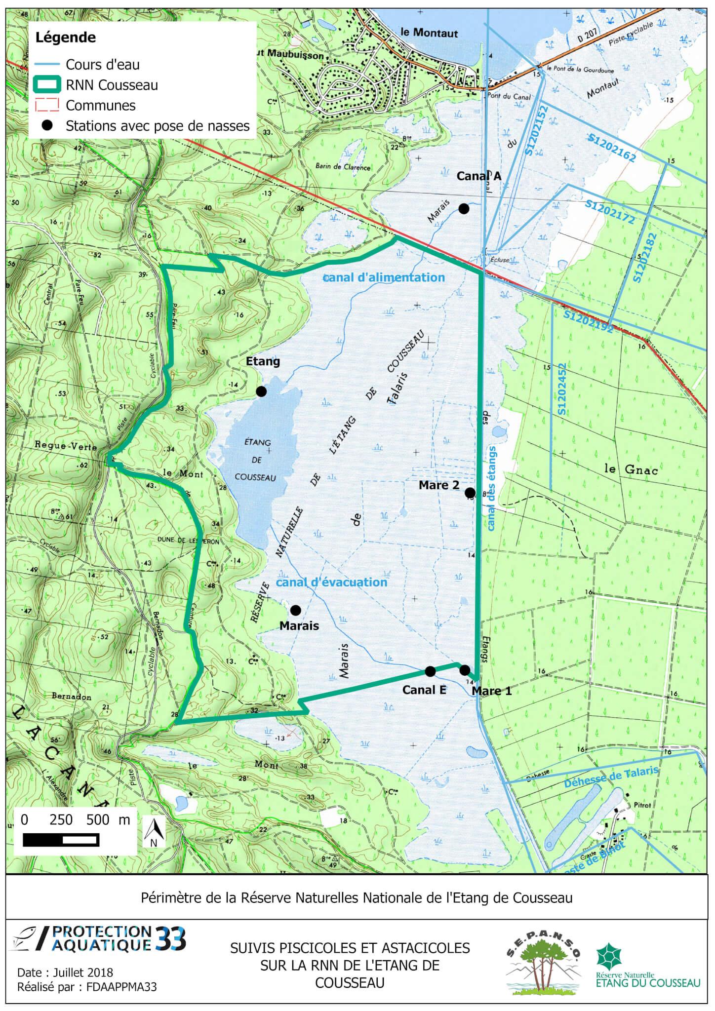 La Réserve Naturelle Nationale de l'étang de Cousseau